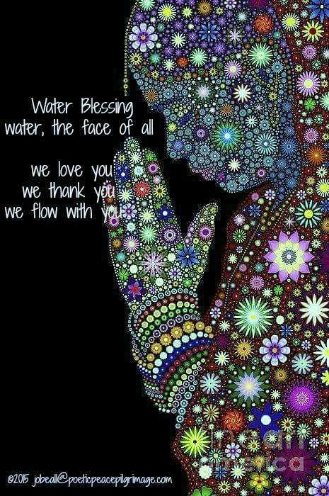 Named Moving March 22 Water Blessing Poetic PEACE Pilgrim Jeweled