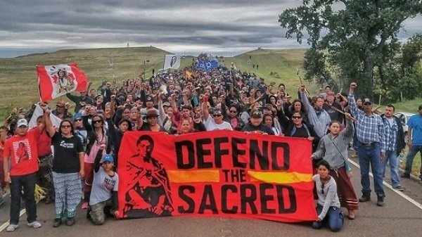 Named Open October 13 Water Standing Rock Celebration Pause
