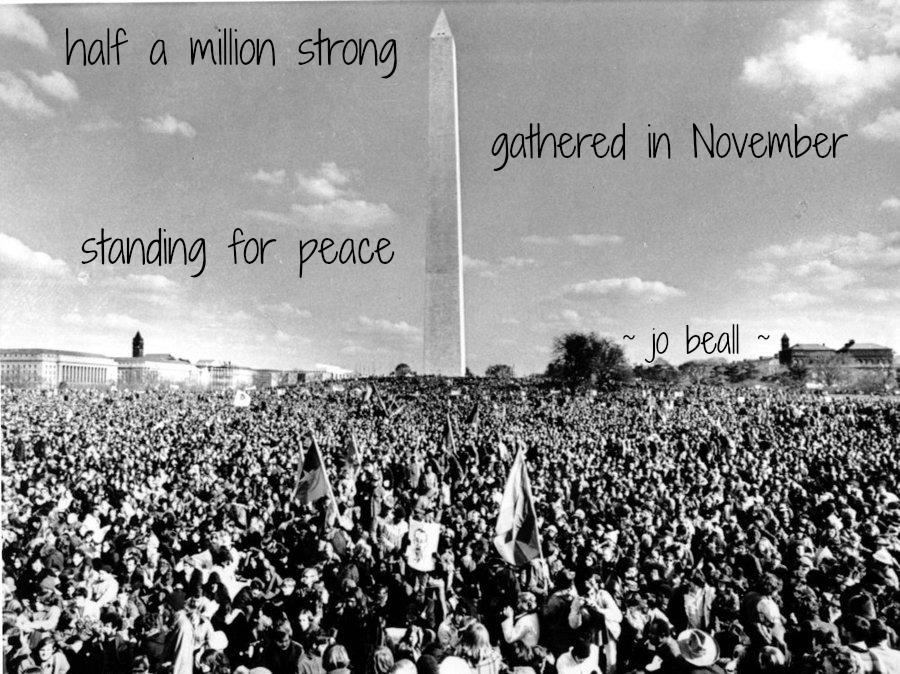 Named Numina November 15 Peace March.
