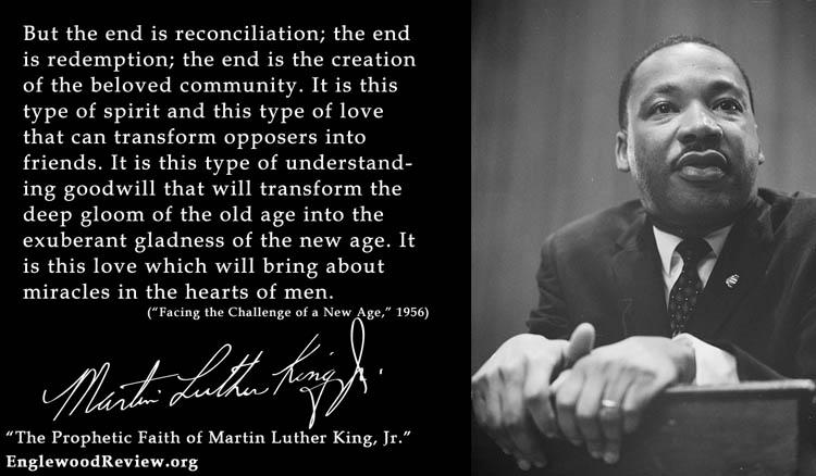Named Numina November 16 MLK-Beloved Community