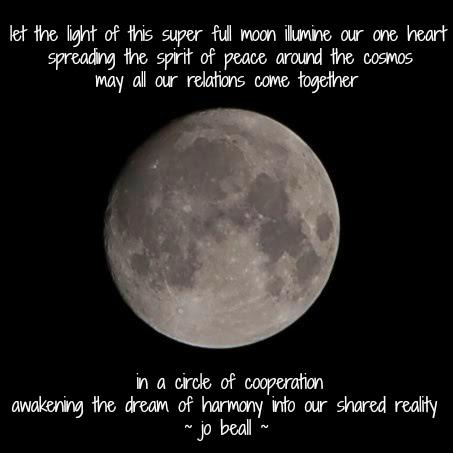 Named Descending 3 Astonishing Light of Being 11-13-16 Moon Full Super