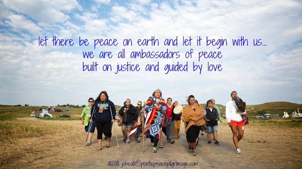 Named Freely Flowing 7 Peace Water Standing Rock Women